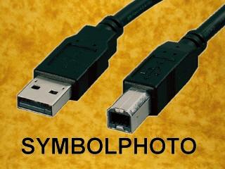 USB 2.0 Druckerkabel, 3m