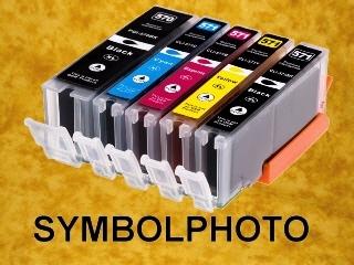PGI570PGBKXL / CLI571XL - mit Chips * Tinten Komplettset