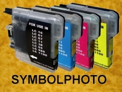 LC-1100 / LC1100 * Tinten Komplettset