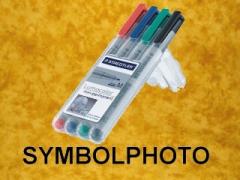 Staedtler Lumocolor Folienschreiber, 4er-Set