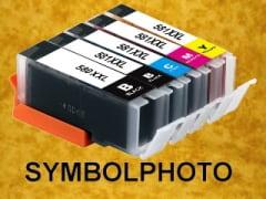 PGI580PGBKXXL / CLI581XXL - mit Chips * Tinten Komplettset